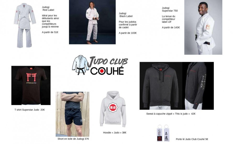 La boutique du Club est en ligne !